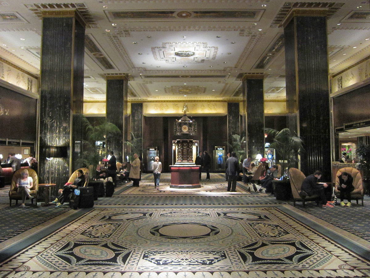 The Waldorf Astoria Iconic Interior Inches Closer To Being Landmarked New Yorks Lobby