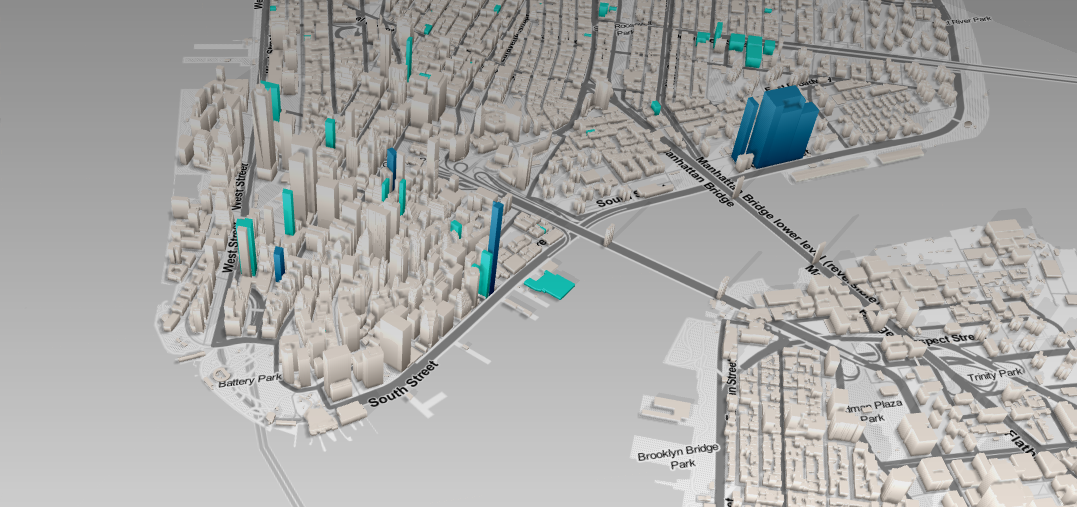 Interactive NYC skyscraper map lets you see what buildings are – Manhattan Interactive Map