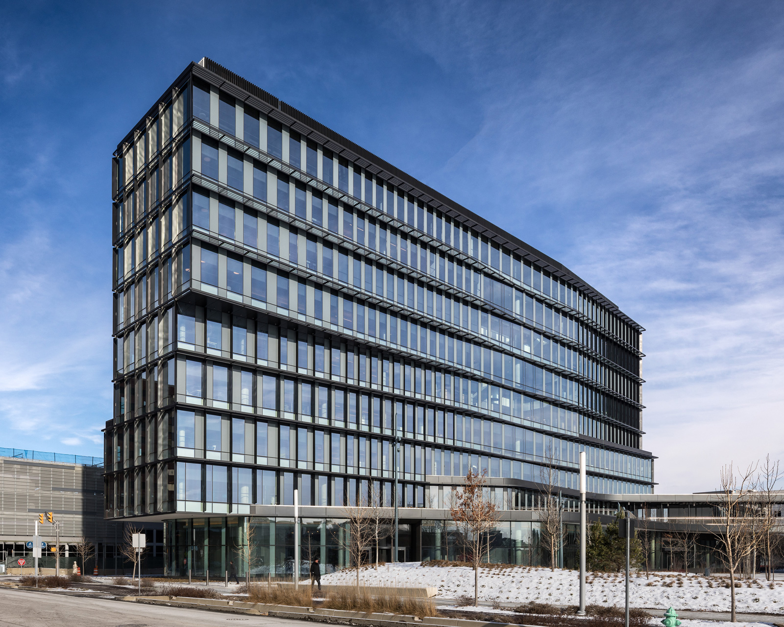 Office Building Architecture deborah berke completes new cummins indianapolis office building