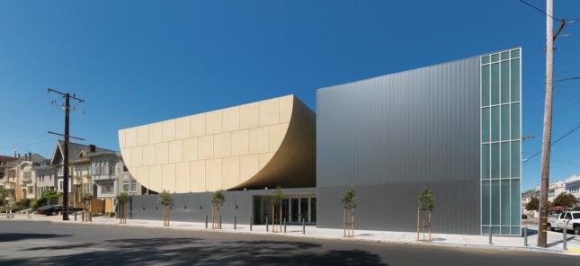 Beth Sholom Synagogue, San Fransisco, completed 2008. (Courtesy Stanley Saitowitz/Natoma Architects)