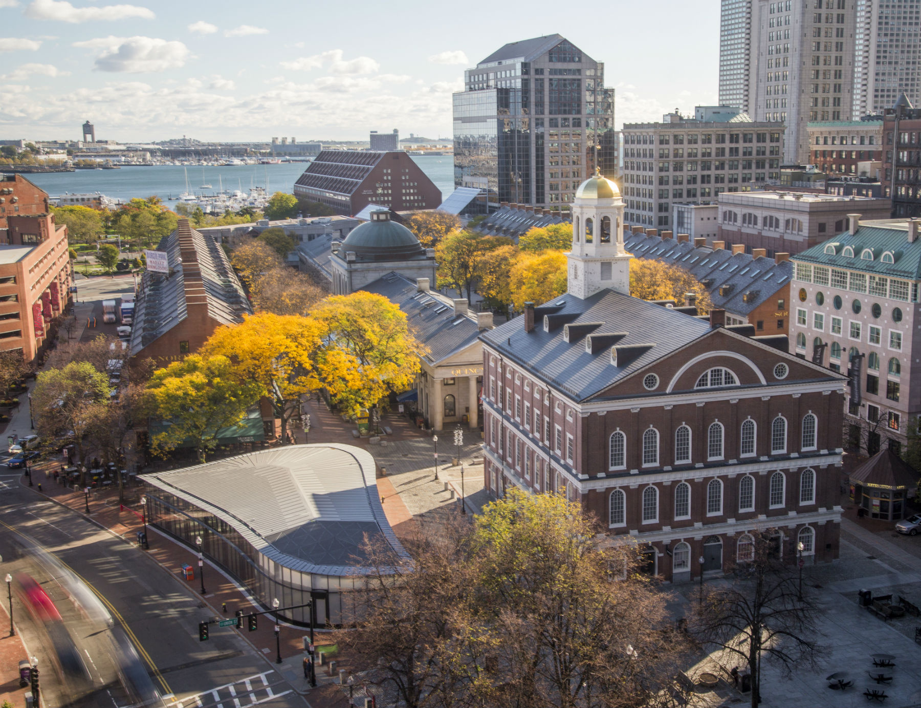 Boston Welcomes Sephora Glass Pavilion To Historic Faneuil Hall Marketplace