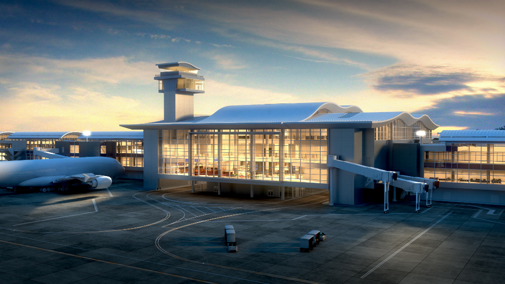 Superior Architecture Firms Gensler And Corgan Are Adding A New Terminal To Los  Angeles International Airport.