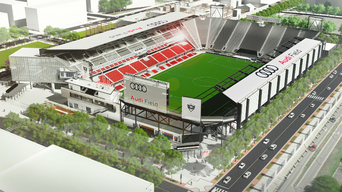 D C United Stadium Approved Despite Design