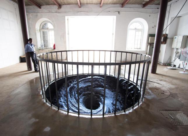 Decesion at the Kochi-Muziris Biennale. (Courtesy the Kochi-Muziris Biennale)