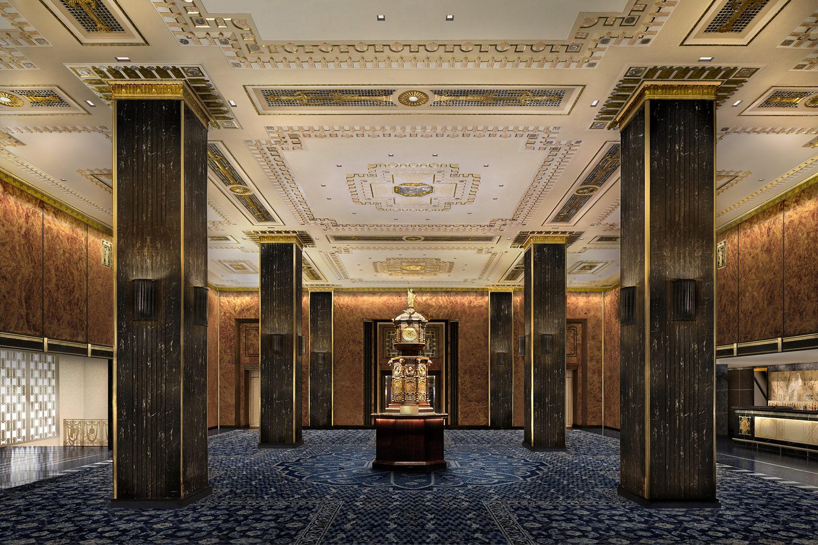 Renderings Released Of Waldorf Astoria Restoration