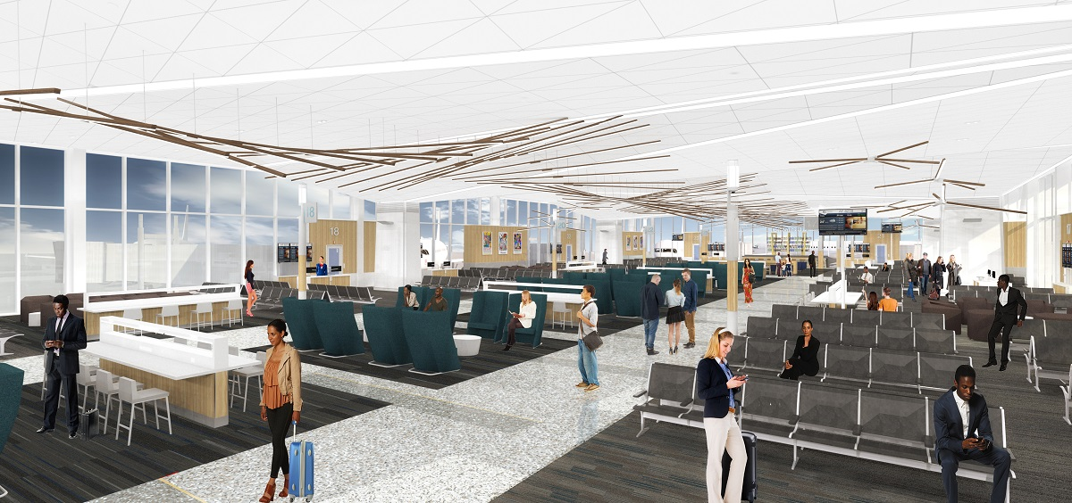 Fly Through Animation Reveals Memphis International Airport Remodel