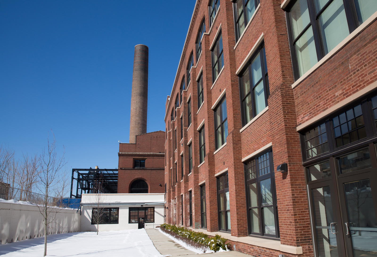 Historic sears complex becomes lofts on arthington for Affordable home additions