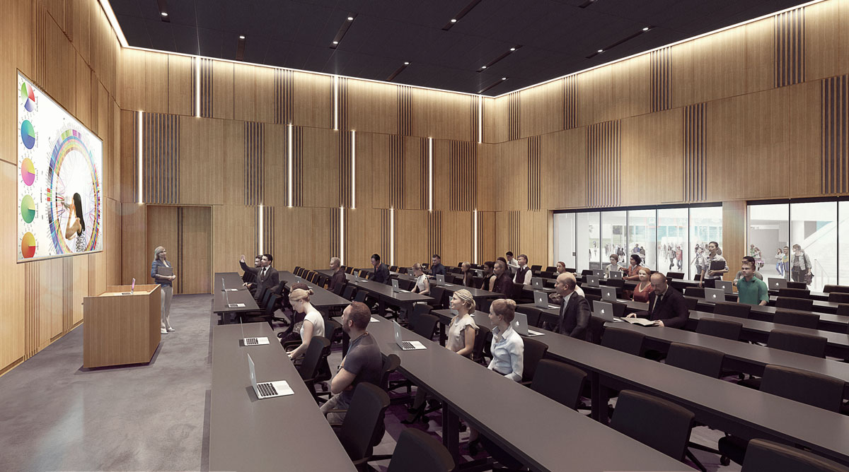 W Uc Lindner College Of Business Henning Larsen Architects Lecture Hall 05