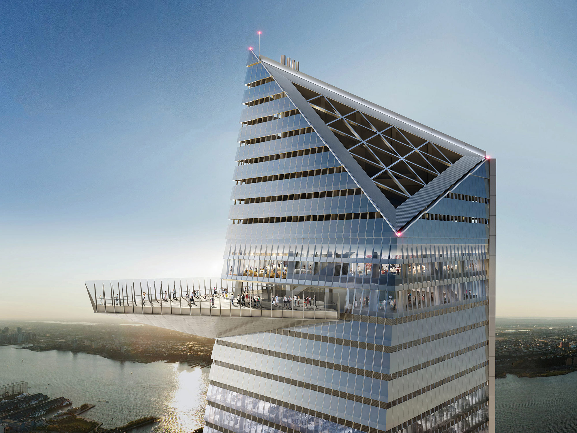 Hudson Yards Observation Deck Courtesy Of Related Oxford