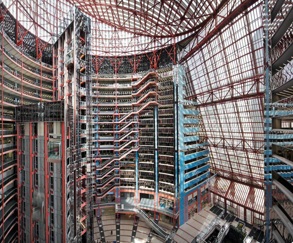 Illinois Governor Ransoms Thompson Center For Public School Money. Seen  Here: James R.