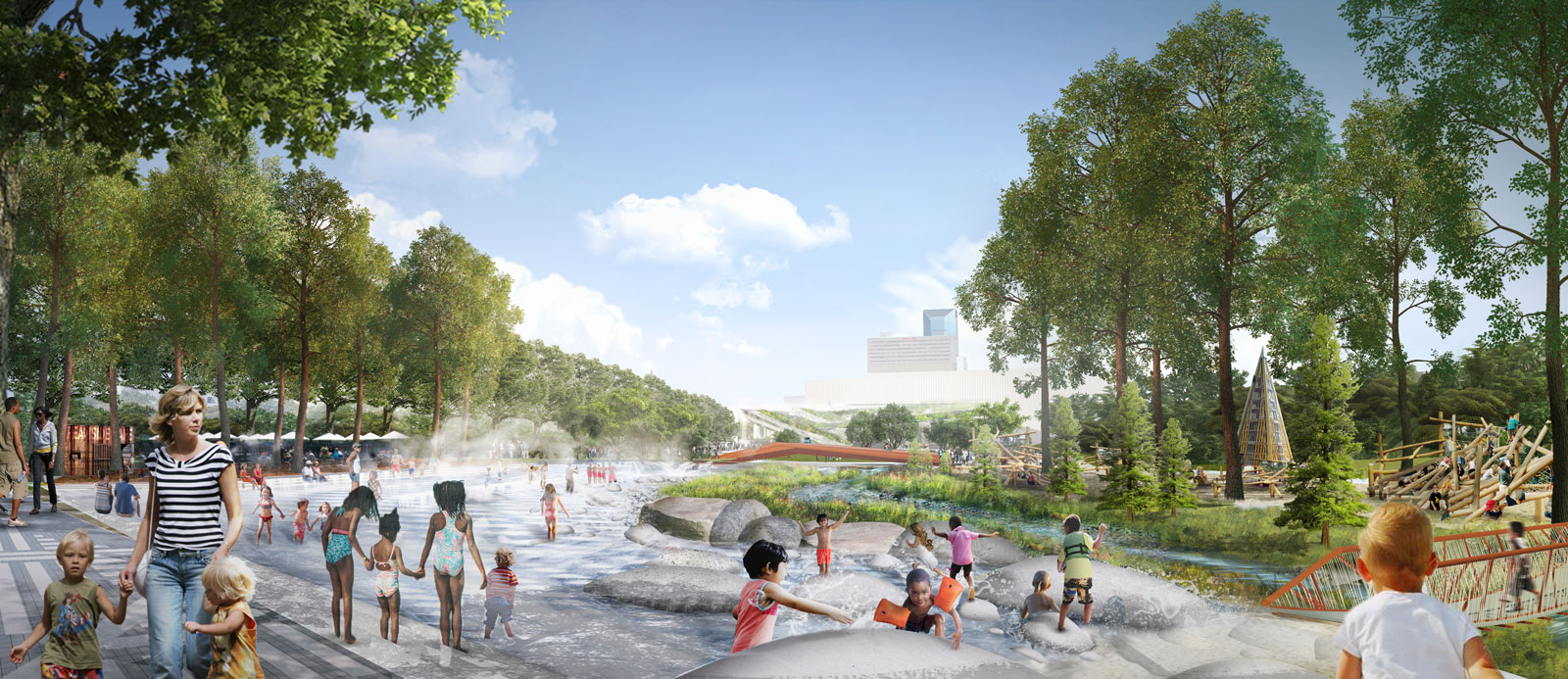 New Images Revealed Of The Town Branch Park In Lexington Kentucky