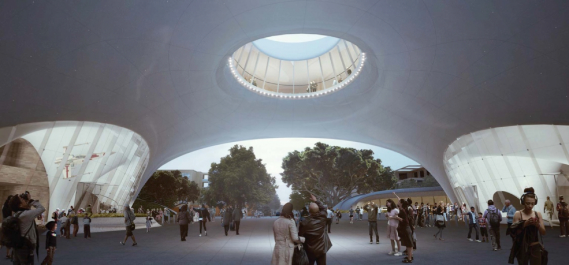 Mad Architects Reveals New Renderings For Lucas Museum Math Wallpaper Golden Find Free HD for Desktop [pastnedes.tk]