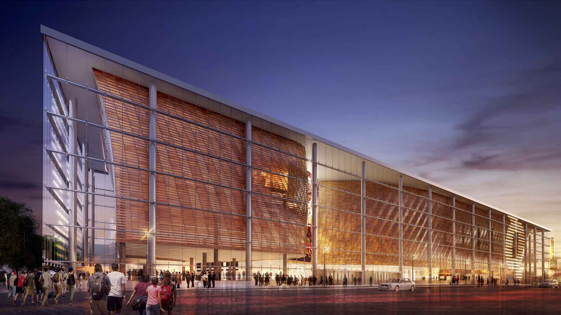 America's biggest and best upcoming sports stadiums. (Courtesy The Quicken  Loans Arena)