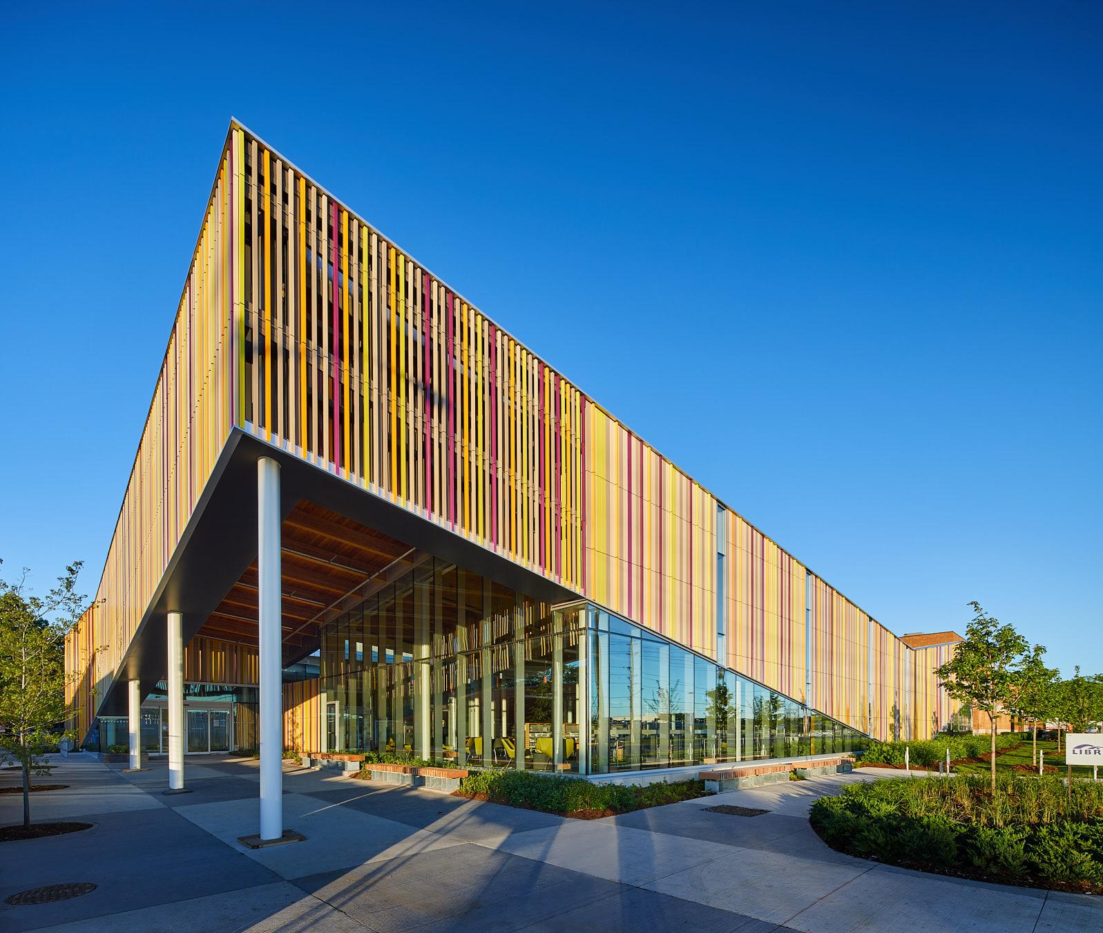Perkins Will Designs A Vibrant Terra Cotta Facade For