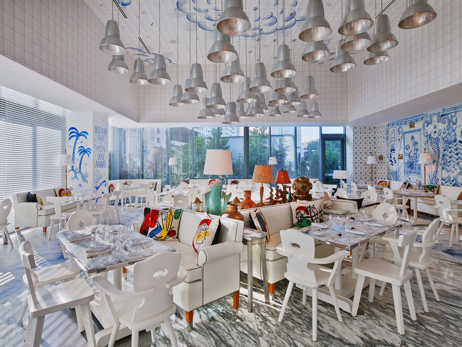 Philippe Starck Designs A Surreal Nautical Interior For