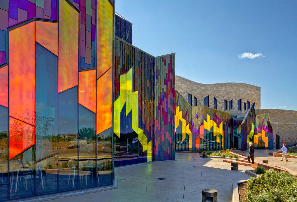 Fiery Natural History Museum Integrates Color Shifting