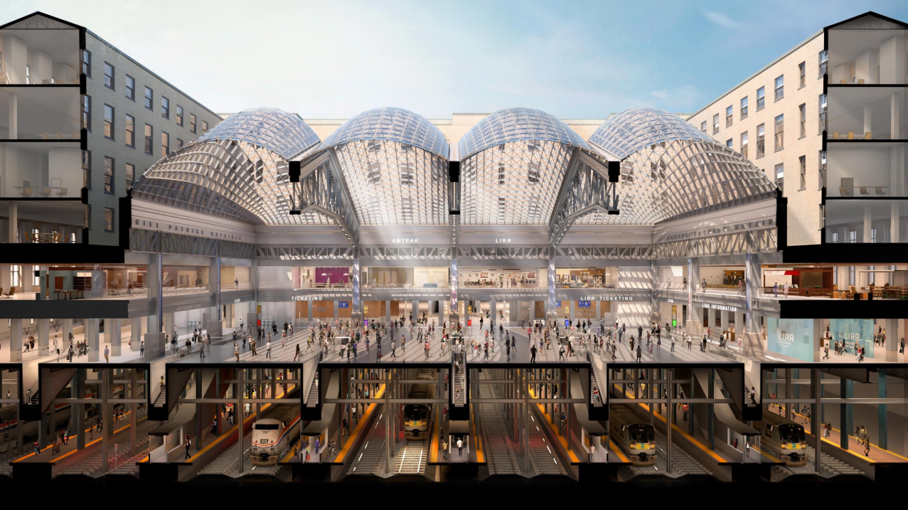 New Renderings Revealed Of Moynihan Train Hall For