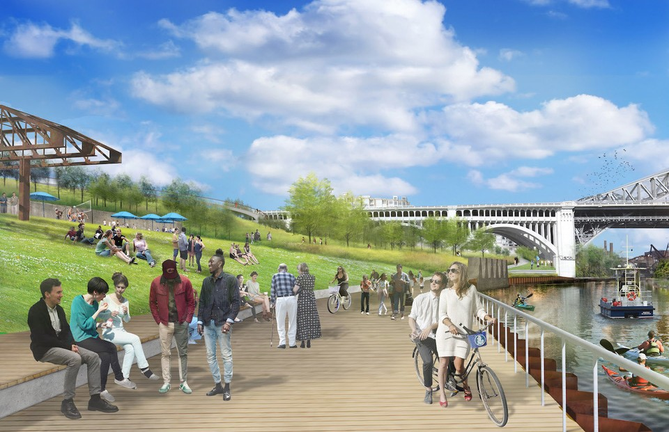 Irishtown Bend In Cleveland In Line For A Massive Transformation