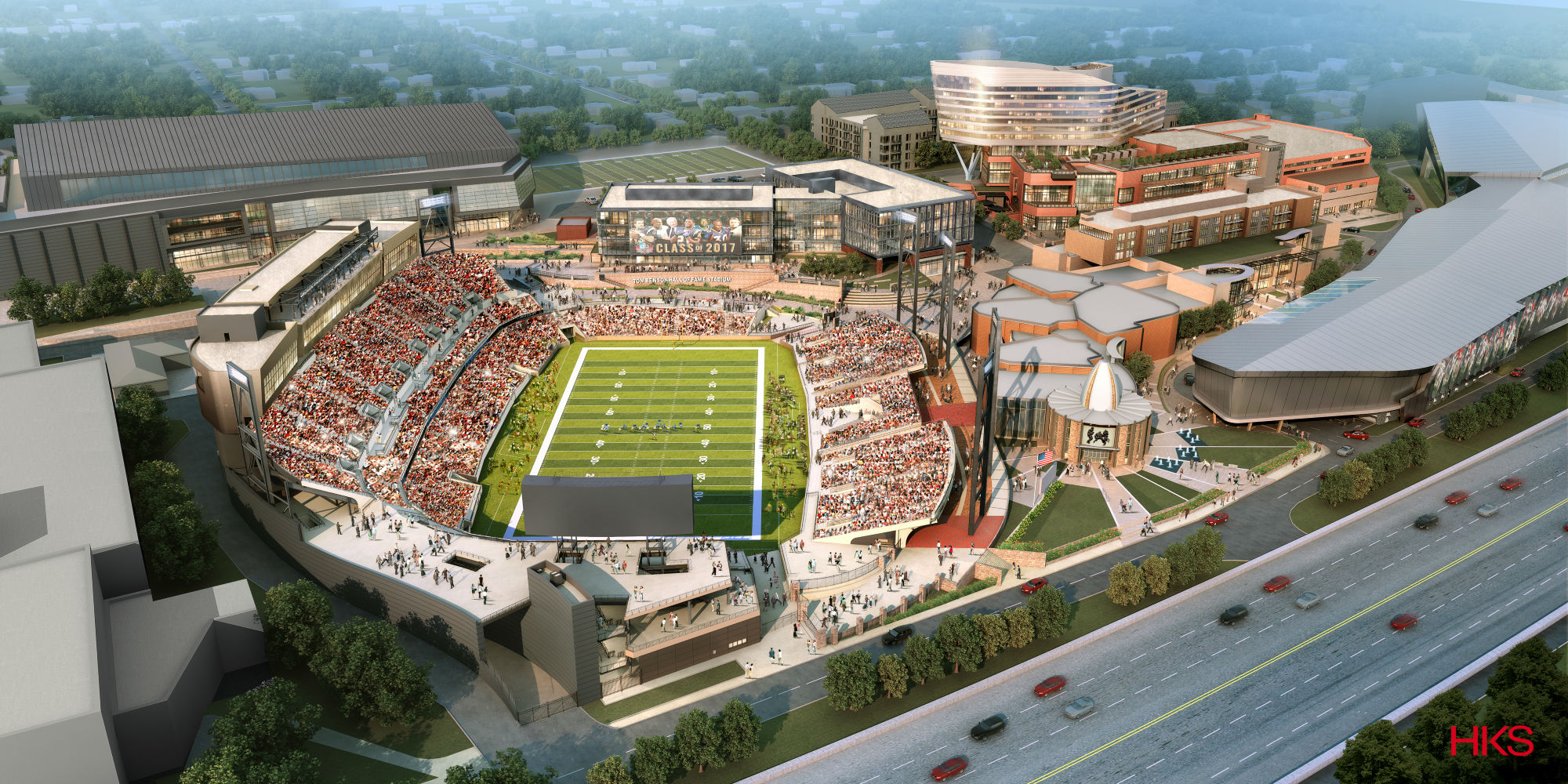 Pro Football Hall Of Fame S Lifestyle Village Debuts New