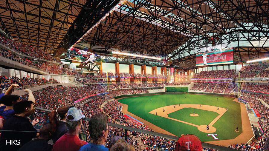 Texas Rangers Unveil New Stadium Designed By Hks