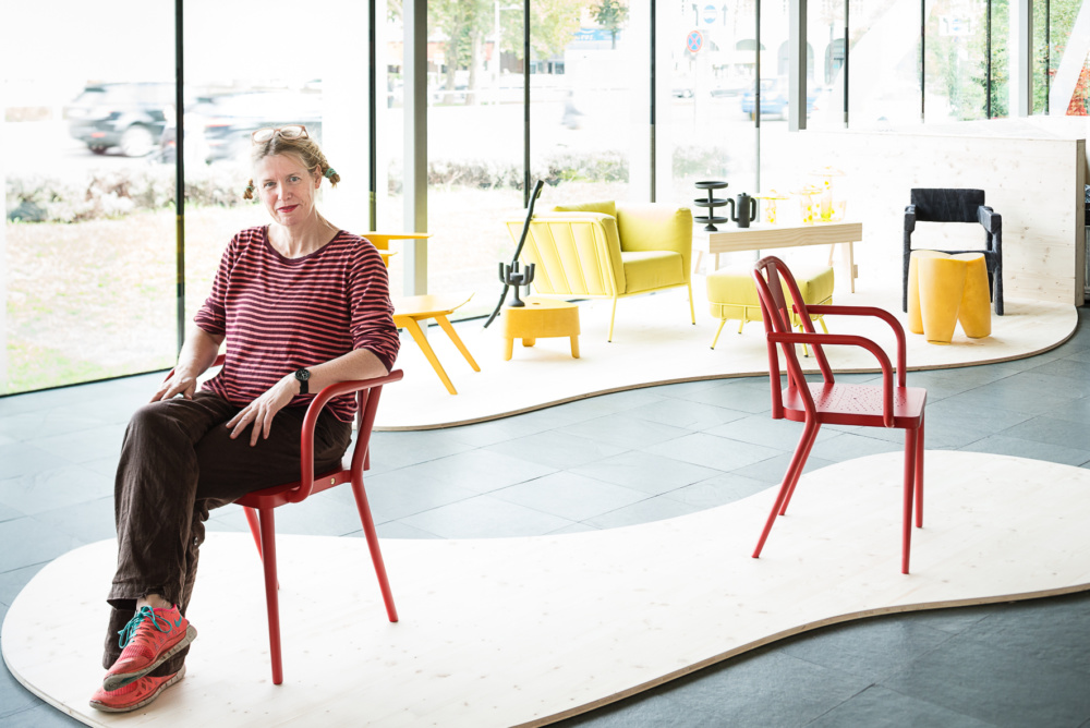 AN Interviews Ineke Hans On The Future Of Furniture Design. Pictured Here:  Installation View