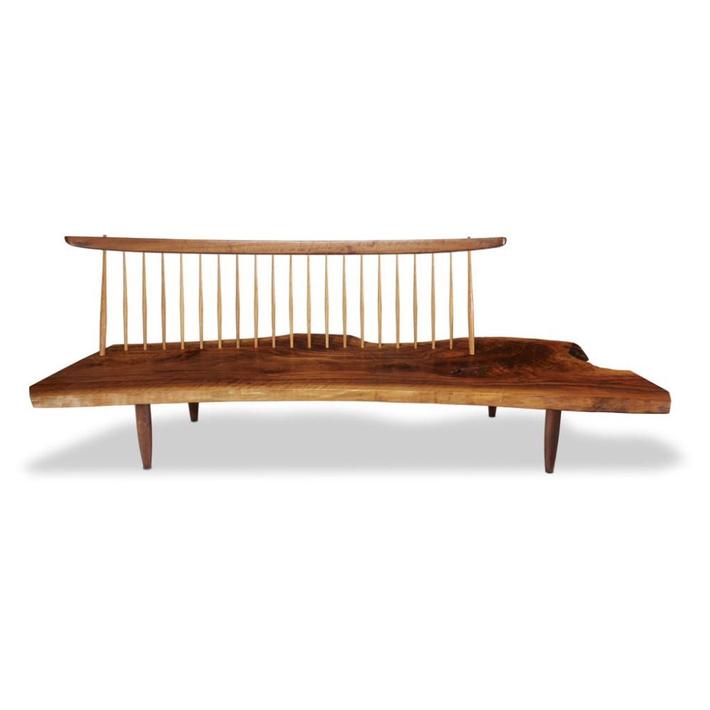 A Coupleu0027s Lifelong George Nakashima Collection On Auction At Freemanu0027s.  Pictured Here: Lot 28