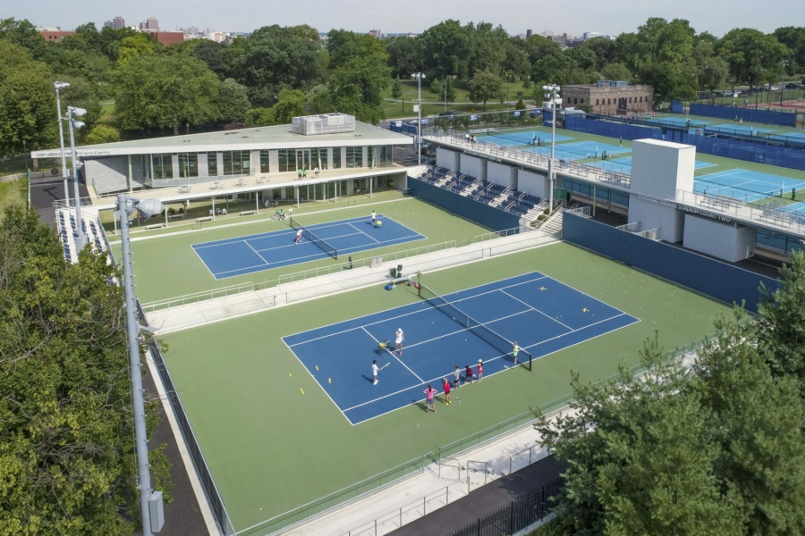 Archtober BOD #7: Cary Leeds Center for Tennis & Learning ...