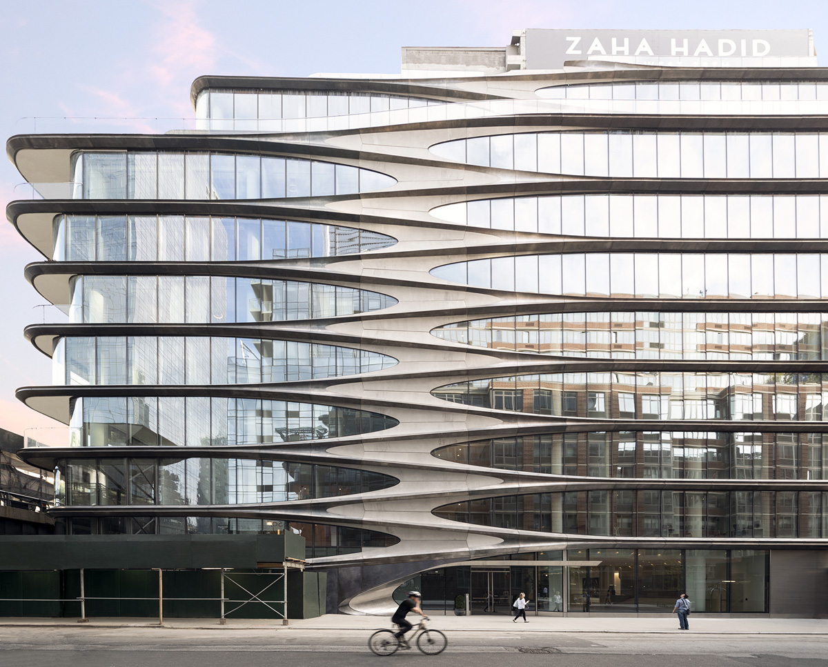 A closer look at zaha hadid s first residential property for Zaha hadid new york apartment