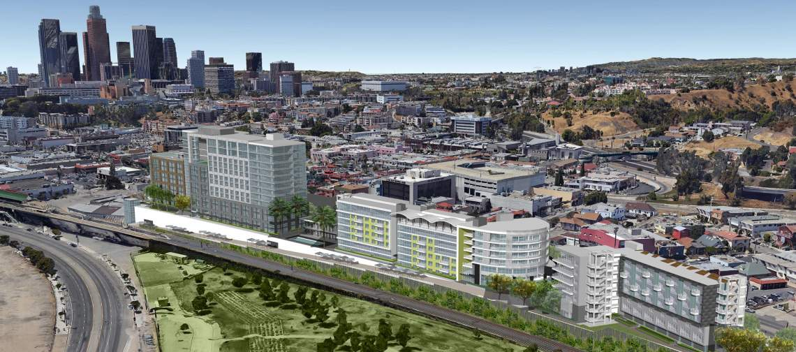 These Four Developments Will Reshape L A S Storied Solano Canyon Corridor Slew Of