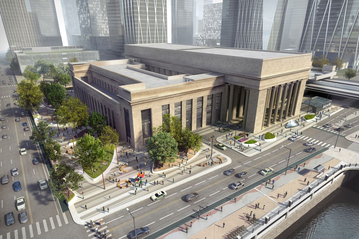Amtrak Reveals Renderings For Philly 39 S 30th Street Station