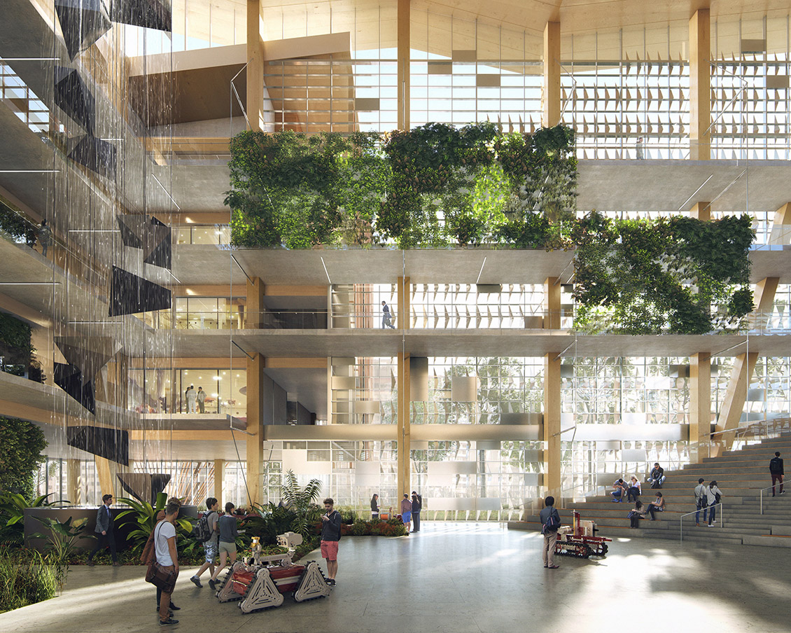 Studio ma designs net zero timber building for arizona for Net zero design