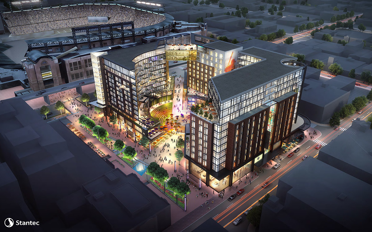 A Full Block Stadium District Comes To Downtown Denver