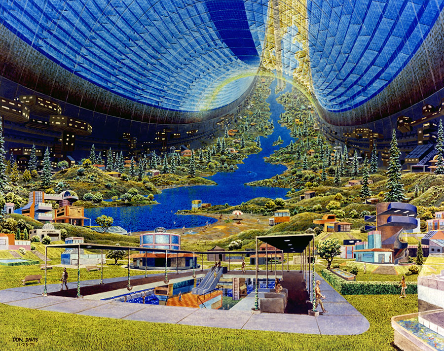 NASAs Bold Space Habitats Inspired A Generation Of Designers