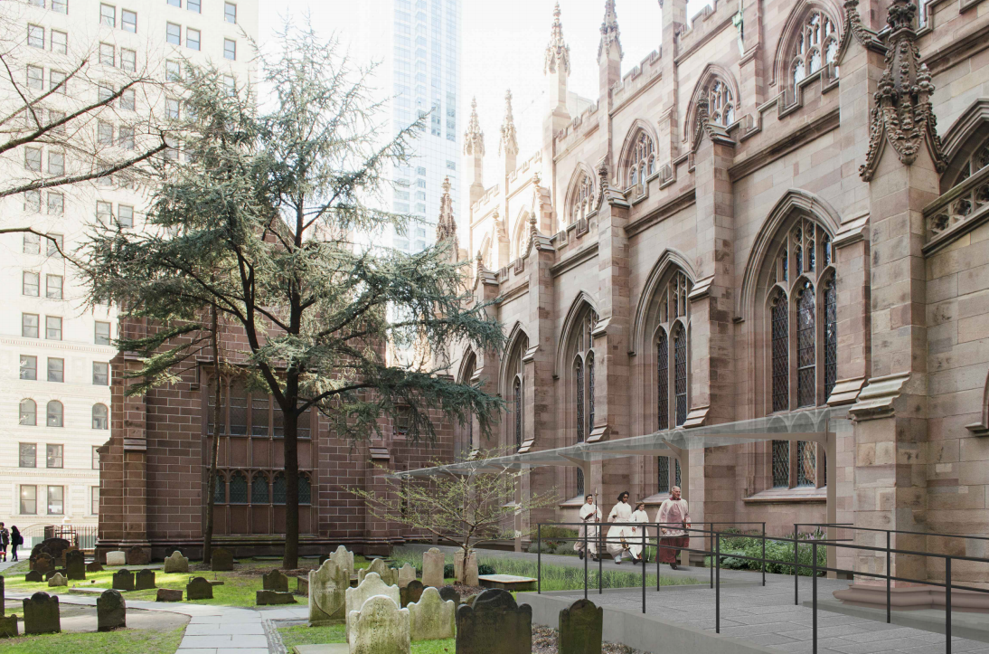 Landmarks Approves Changes To Manhattan S Trinity Church