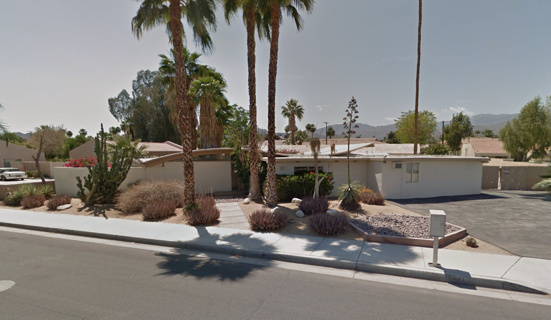 Iconic Midcentury U201cwave Houseu201d In Palm Desert Will Be Restored By  L.A. Based Architects