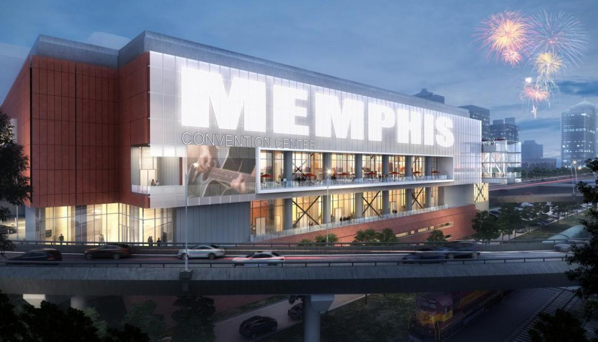 City Of Memphis Jobs >> Memphis Cook Convention Center is about to receive a major facelift - Archpaper.com
