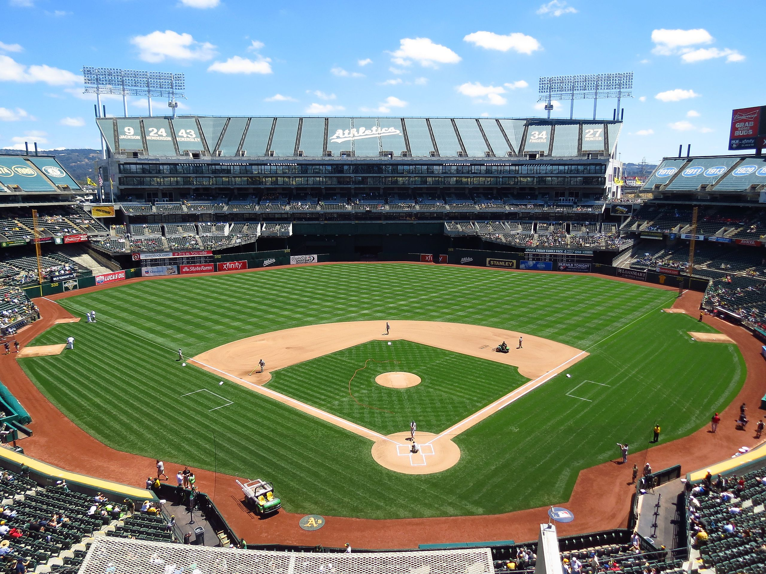 Oakland Makes A Two Pronged Pitch To Keep The Athletics