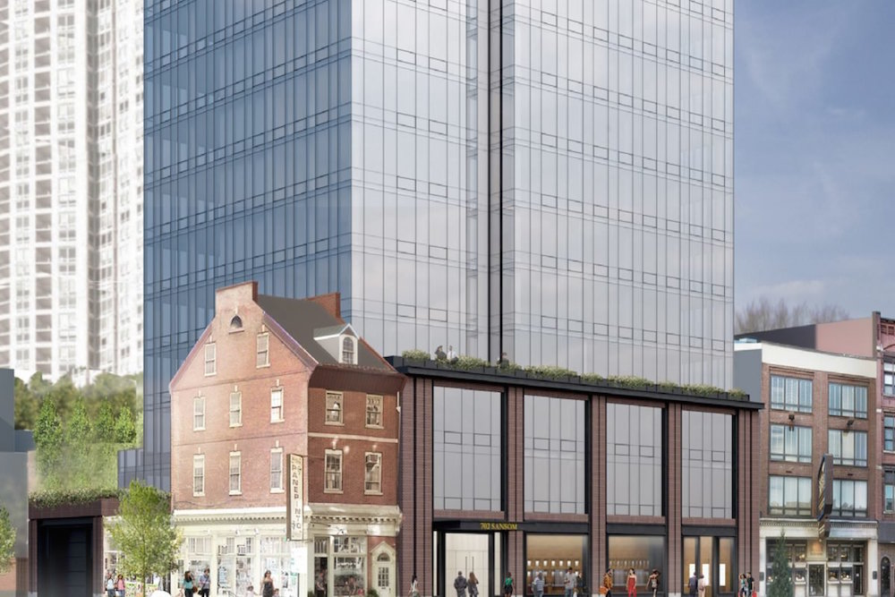 Philly 39 s jewelers row tower raises questions about its - Interior design jobs philadelphia ...
