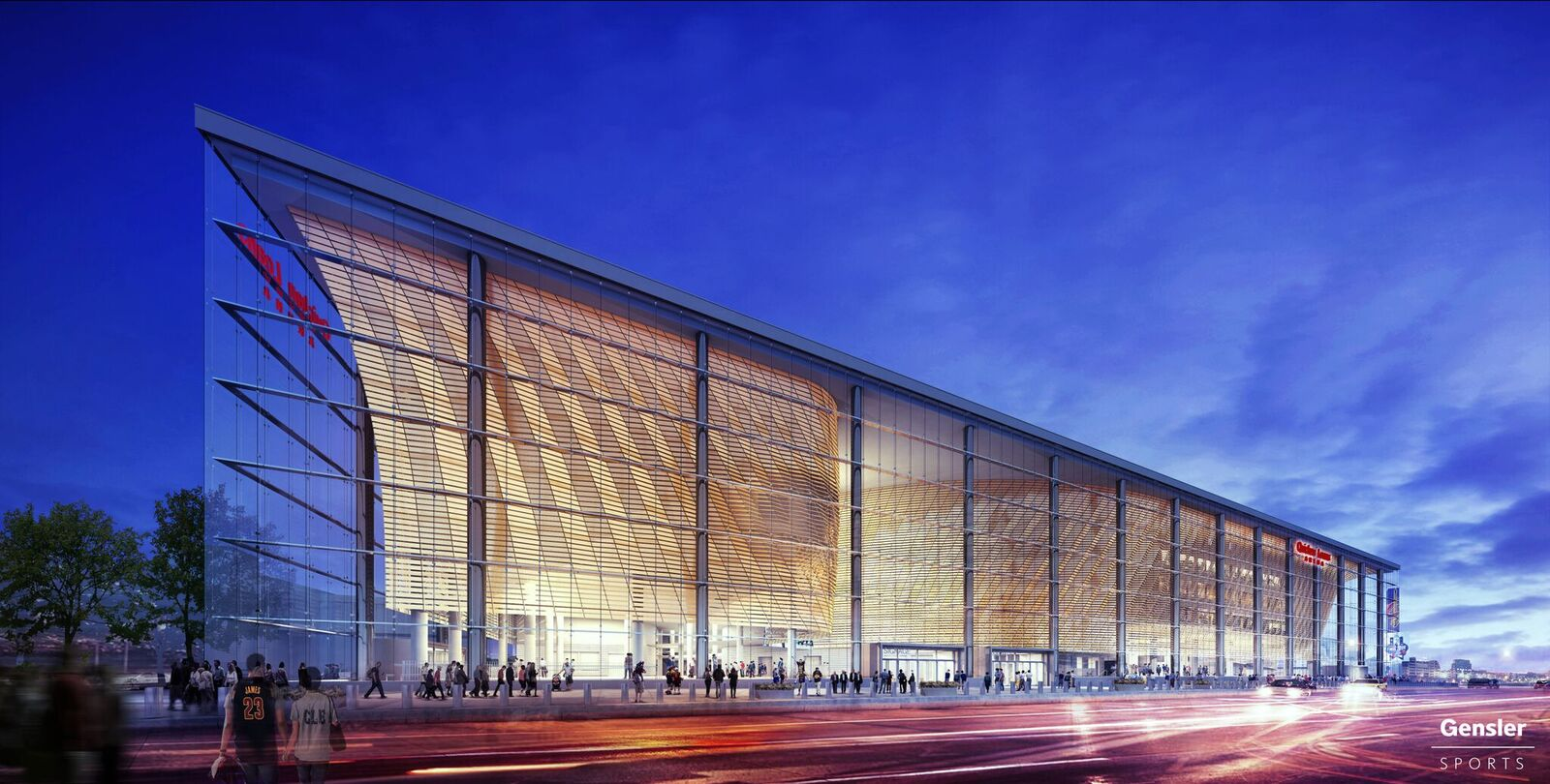 Shop Dropped For The Cavaliers 39 Basketball Arena In Favor Of Gensler