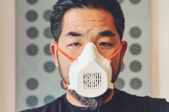 a 3D printed N95 mask